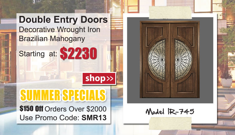 IR-745 Double Entry Doors