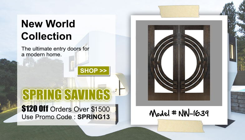 New World Entry Doors