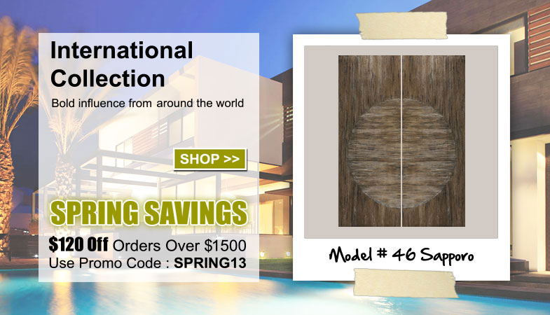International Entry Doors Collection
